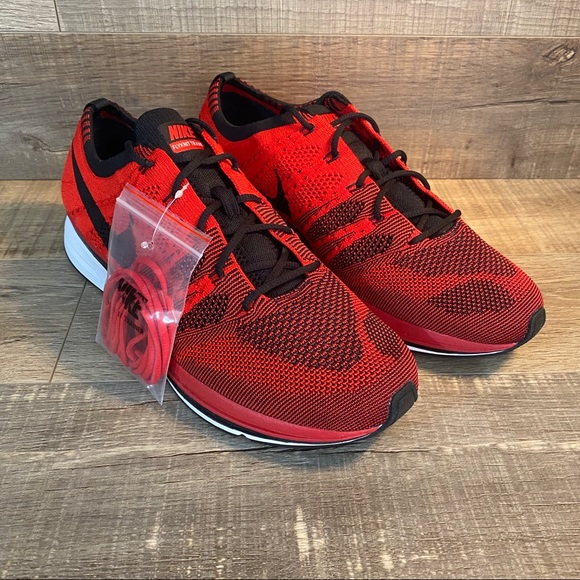 Tacto tranquilo Excretar  Nike Shoes | Flyknit Trainer Red Black | Poshmark